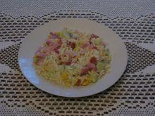 Sałatka makaronowa a la ryż