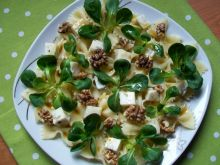Sałatka makaronowa z gorgonzolą