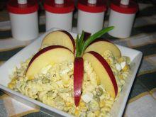 Sałatka z makaronem