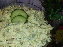 Sałatka makaronowa z rzodkiewką