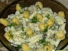 Sałatka makaronowa z serem 4