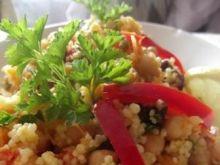 Sałatka marokańska z ciecierzycy