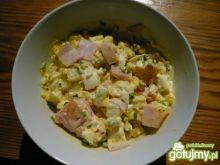 sałatka mix - na kolacje białkową