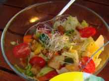 Sałatka na grilla - Swojskie zioła