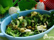 Sałatka na zielono