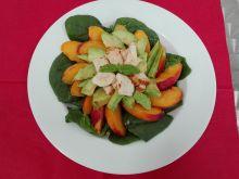 Sałatka nr 10 Brzoskwiniowa Dieta 1200 kalorii