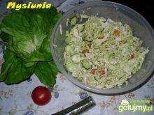 Sałatka obiadowa - dietetyczna