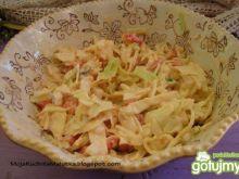Sałatka obiadowa z białej kapusty Ewy