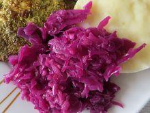 Sałatka obiadowa z czerwonej kapusty