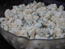 Sałatka obiadowa z kalafiora