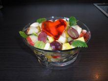 Salatka owocowa.