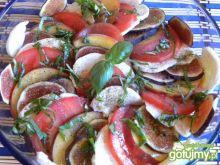 Sałatka owocowa z mozarellą