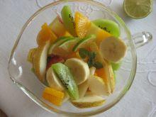 Sałatka owocowa z rumem
