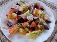 Sałatka owocowo warzywna