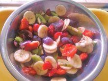 Sałatka owocowy mix smaków