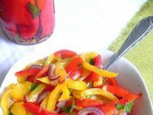 Sałatka paprykowa 4 kolory