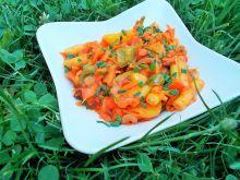 Sałatka paprykowo- szparagowa