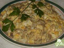 Sałatka pieczarkowa 2