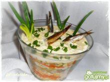 Sałatka ,,Pluskające rybki''