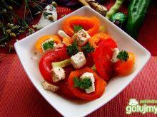 Sałatka pomarańczowo-czerwona z fetą