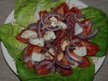 Sałatka pomidorowa z jajkiem