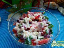 Sałatka pomidorowa z ryżem