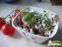 Sałatka pomidorowa z serem feta