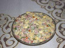 Sałatka pomidorowo-makaronowa
