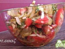 Sałatka pomidorowo - ogórkowa