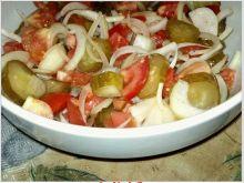 Sałatka pomidorowo ogórkowa