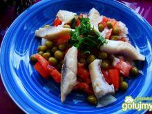 Sałatka pomidorowo-śledziowa