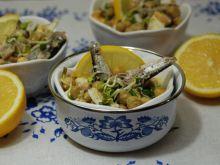 Sałatka rybna z cytrynową nutką