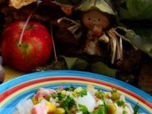 Sałatka ryżowa 3 cebule