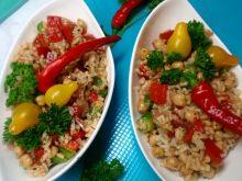 Sałatka ryżowa na szybko