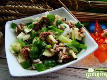 Sałatka ryżowa na zielono