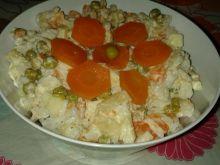 Sałatka ryżowa wg Anety