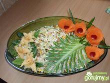 Sałatka ryżowa z ananasem 3