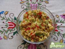 Sałatka ryżowa z ananasem wg szpileczki