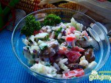 Sałatka ryżowa z bobem
