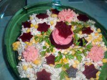 Sałatka ryżowa z gwiazdkami