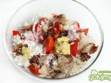 Sałatka ryżowa z kurczakiem 2