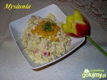 Sałatka ryżowa z kurczakiem Mysiuni