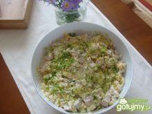 sałatka ryżowa z kurczakiem wg 2milutka