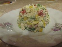 Sałatka ryżowa z serem