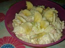 Sałatka ryżowo – bananowa