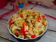 Sałatka ryżowo- warzywna