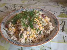 Sałatka z ryżem