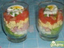 Sałatka szklaneczkowa