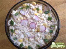 Sałatka tuńczykowo- rzodkiewkowa