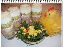 Sałatka warstwowa Eli z jajkami